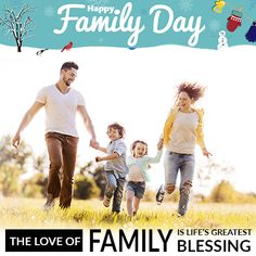 The Love of a Family is Life's Greatest Blessing.. Happy Family Day #HappyFamilyDay #FamilyDay #HappyFamily