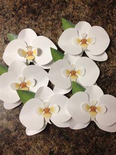 paper orchid DIY.