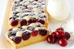 Summer dessert at its finest - mixed berries piled high over a flaky, buttery gluten-free pie crust, with a sweet cream cheese layer in the middle. Belgian Waffle Mix, Churro Waffles, Pancakes, Coles Recipe, Waffle Ingredients, Gluten Free Pie, Cherry Tart, Almond Recipes, Cherry Recipes