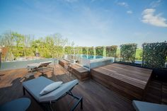 Rooftop stainless steel whirlpool Imaginox in Czech Republic Backyard, Patio, Outdoor Furniture Sets, Outdoor Decor, Rooftop, Wellness, Exterior, Stainless Steel, Czech Republic