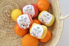 Image of DMC Natura Just Cotton - Delicious Oranges and Lemons