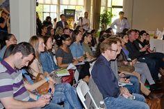 Attendees listen to listen to one of 16 speakers at Body 2.0. Photo by Cheryl Hornbaker.