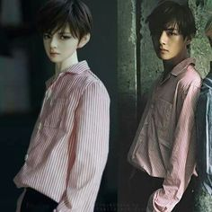 Taehyung doll and real Taehyung