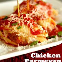 Chicken Parmesan Stuffed Shells Recipe - ZipList