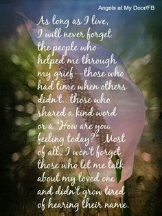 """I will not forget the """"few"""" true people that are for me."""