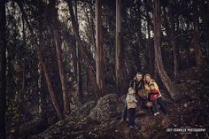 The H Family, Hiking Glen Canyon Park, Fairy House, Magical, Family Photography