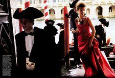 Vogue US July 2005 model: Natalia Vodianova photographer: Mario Testino