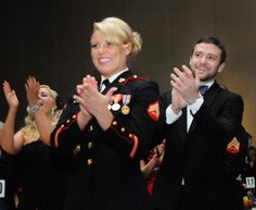 US Marine corporal had a ball with Timberlake