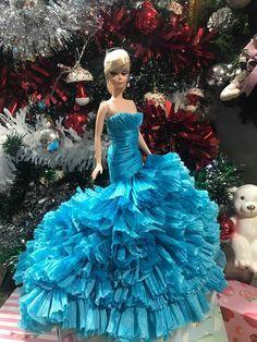 new dress for silkstone by t.d.fashion #BARBIESILKESTONE