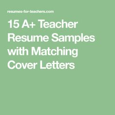 Resume Objectives For Teachers Httpwww.wordpresstemplatespluginswpcontentuploadsnew .