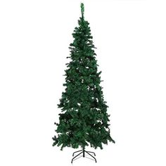 Wakrays PVC Metal Base Artificial Christmas Tree 75feet Green ** Learn more by visiting the image link.