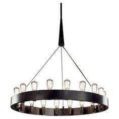 Candelaria Chandelier | Robert Abbey at Lightology