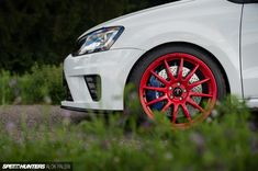 A Bodybuilder With A Baby Face: The Seebacher Polo R WRC Clubsport - Speedhunters Polo R, Z New, Gas Station, Bodybuilding, Vehicles, Car, Wheels, Automobile, Cars