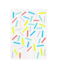 Puffy Sprinkles Stickers