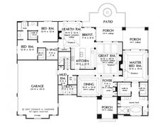 Good 1-story floorplan, love the mud room to laundry transition