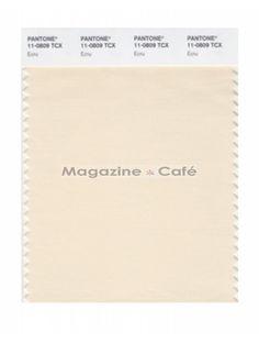 Pantone Smart 11-0809 TCX Color Swatch Card 3rd pastel or dark white/ Ecru