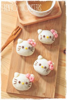 "Hello Kitty Snowkin Mooncake, by Ming of ""Bento, Monsters"" 