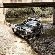 off-road Subaru Impreza