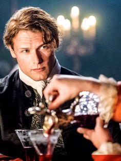 Sam Heughan in season 2 of Outlander. Yummy!