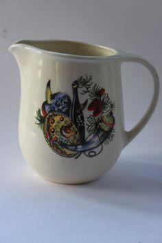 Vintage mid century 1950s Romanian jug or by millcottagevintage, £15.00