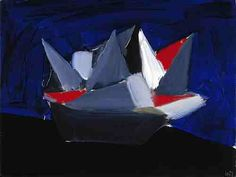 Nicolas de Staël, The Boat, 1954, oil on canvas (Scottish National Gallery of Modern Art, Edinburgh)