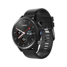 Kospet Hope Smart Watch Phone Flash Sale - Until January 2019 Best Smart Watches, Cool Watches, Watches For Men, Wrist Watches, Men's Watches, Watch That Counts Steps, Samsung Accessories, Cell Phone Accessories, Bluetooth