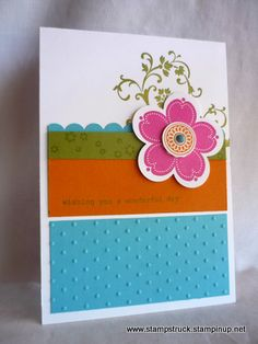 posy punch stampin up - Google Search