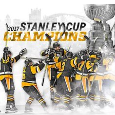 We're going dancing with Lord Stanley! Your Pittsburgh Penguins are the 2017 Stanley Cup Champions.