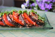 Пряные баклажаны Russian Recipes, Russian Foods, Eggplant Recipes, Meatloaf, Tuna, Appetizers, Fish, Snacks, Vegetables