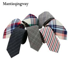 Mantieqingway Brand Plaid and Striped Men Skinny Ties Fashion Corbatas Plaid Neck Ties Narrow Tie for Party Neck Tie for Men Mens Fashion Blog, Bold Fashion, Fashion Styles, Business Casual Suit, Tie Pattern, Men With Street Style, Tie Styles, Mens Style Guide, Dapper Men