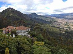 Hacia el Sur de los Cerros desde Monserrate (Bogotá).