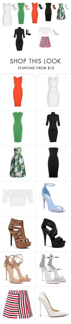 """""""Clothes are great"""" by stracyolivier on Polyvore featuring MICHAEL Michael Kors, Hervé Léger, Undress, Dolce&Gabbana, Rick Owens, WearAll, Rachel Zoe, Chinese Laundry, Pleaser and Giuseppe Zanotti"""