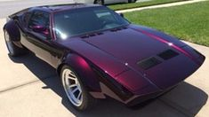 Tear It Up With A 1973 De Tomaso Pantera Pantera Car, Ford V8, Hid Headlights, Exotic Beauties, American Sports, Back In The Day, Car Show, Good News, Dream Cars