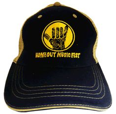 2011 Hangout Fest Embroidered Hat - Blue - $25.00