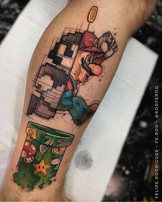 Tatuagem do Mario - Blog Marco Macei - Google+