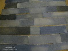 Re-cycled Denim Quilt - tutorial