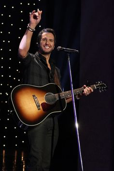 Luke Bryan is up for the ACM Entertainer of the Year. Click this pin to cast your vote for this Georgia boy!