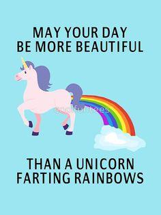 unicorn fart rainbow - Google Search