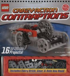 Lego Crazy Action Contraptions (Klutz) >>> Check out the image by visiting the link.
