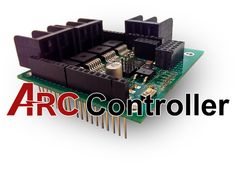 The Arc-Controller is here to give power to the Maker by bring high Amp motor control to your projects.