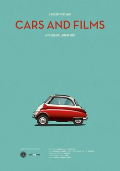 Poster of the car of Family Matters. Illustration Jesús Prudencio. Cars And Films