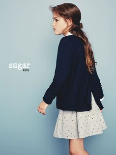 Emylie from Sugar Kids for Massimo Dutti B&G Pre-Fall.