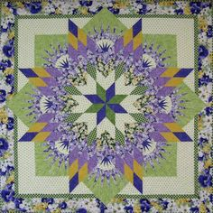 Summer Solstice ~ Quiltworx.com, made by Certified Shop, Tennessee Quilts