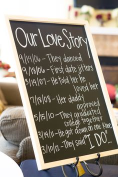 I love this idea for a wedding, baby shower.. I just love this..