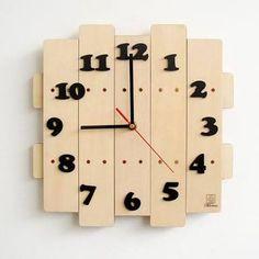 Wooden wall clock ile ilgili görsel sonucu
