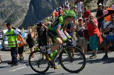 Daniel Martin. Stage 11.  Pau to Cauterets - Vallée de Saint-Savin.