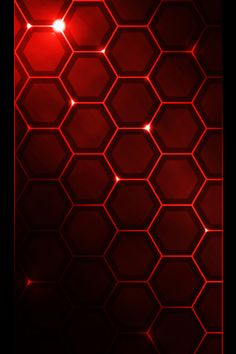 Gallery For > Red Hexagon Wallpaper