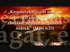 Mt 6,23 Keressétek... History, Historia