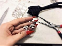 Delicate small Swarovski Earrings for a bride or for long dress. Bridal Earrings, Swarovski, Delicate, Hair Accessories, Bride, Handmade, Dress, Bride Earrings, Wedding Bride
