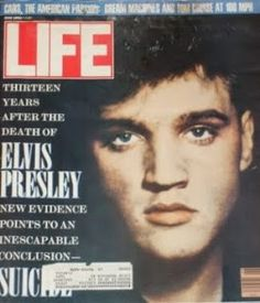 Elvis on the cover of LIFE magazine